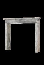 The Antique Fireplace Bank Rústicos Antiguos Renegerado Granja De Piedra Caliza Chimenea Surround