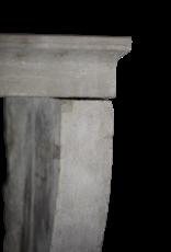 Pequeño País Francesa Piedra Caliza Chimenea Surround