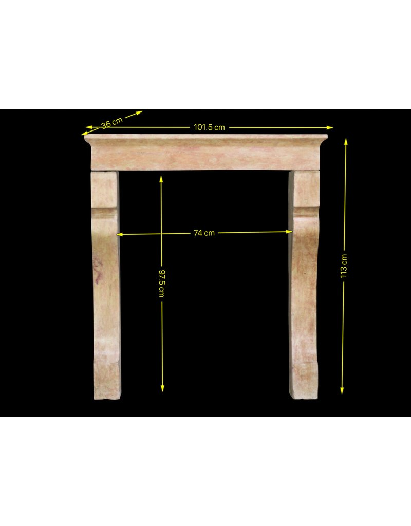 19Th Century French Fireplace Surround