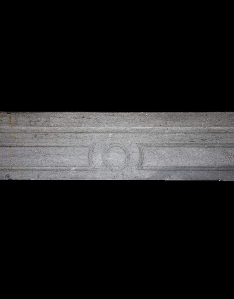 18. Jahrhundert Französisch Grauen Stein Jahrgang Kaminmaske
