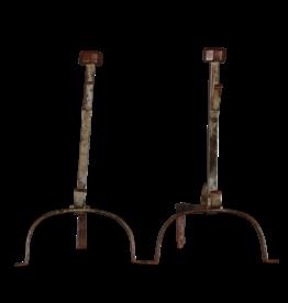 Vintage Paar Feuerhunde