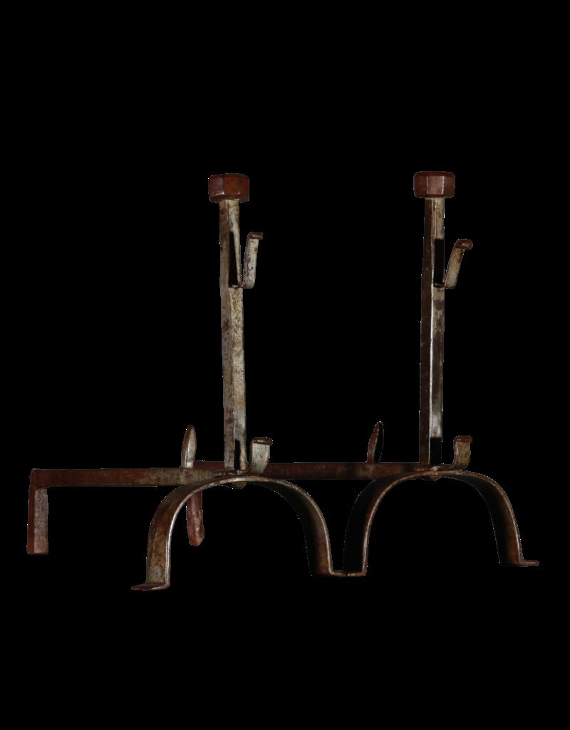19. Jahrhundert Set Vintage Feuerböcke