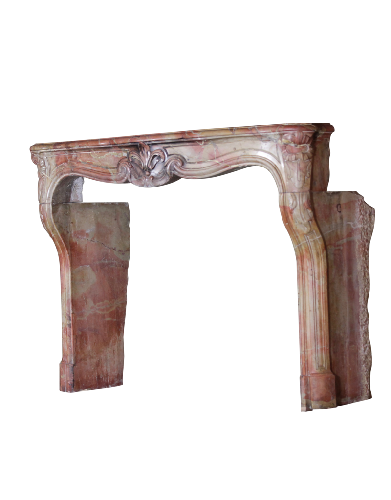 French Chique Marble Stone Fireplace Surround