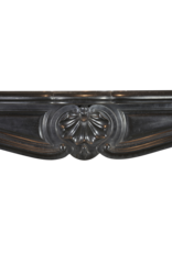 Klassische Belgische Black Marmor Kaminmaske