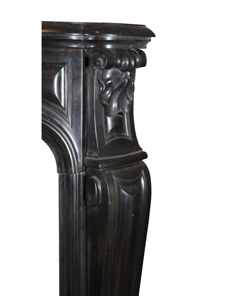 Classic Belgian Black Marble Fireplace Surround The Antique Fireplace Bank