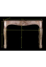 French Chique Country Fireplace Surround