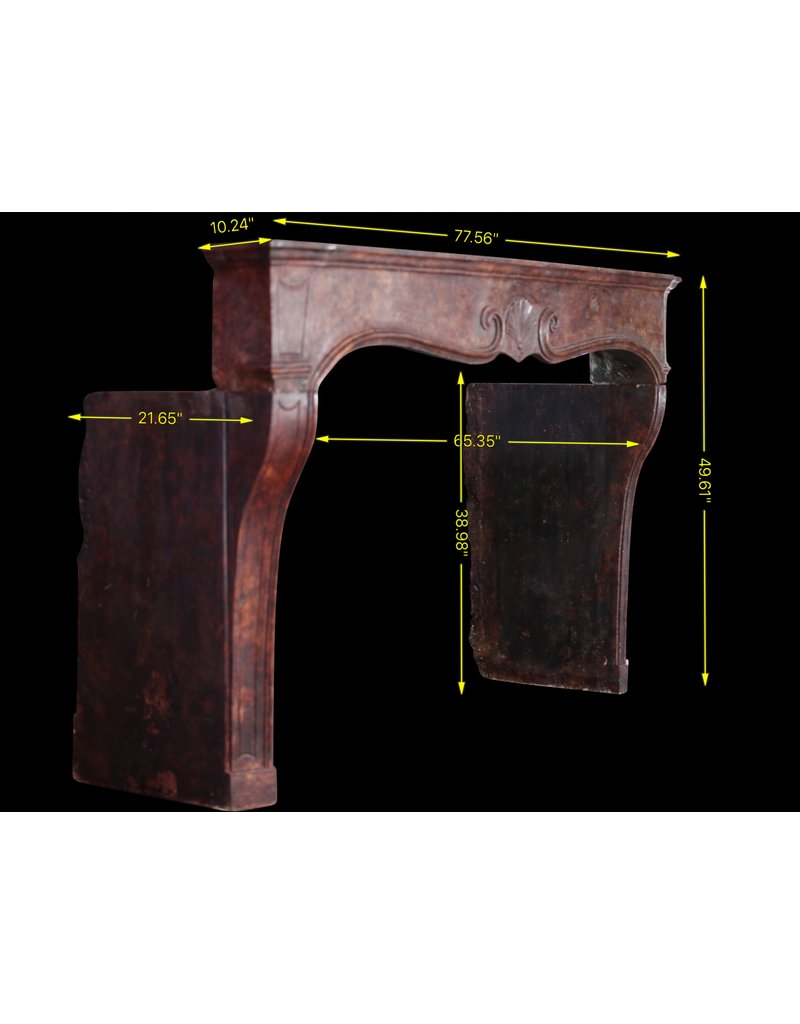 The Antique Fireplace Bank Fine French Regency Period Fireplace Surround