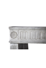 The Antique Fireplace Bank 18Th Century Fine French Fireplace In Hard Bleu Stone