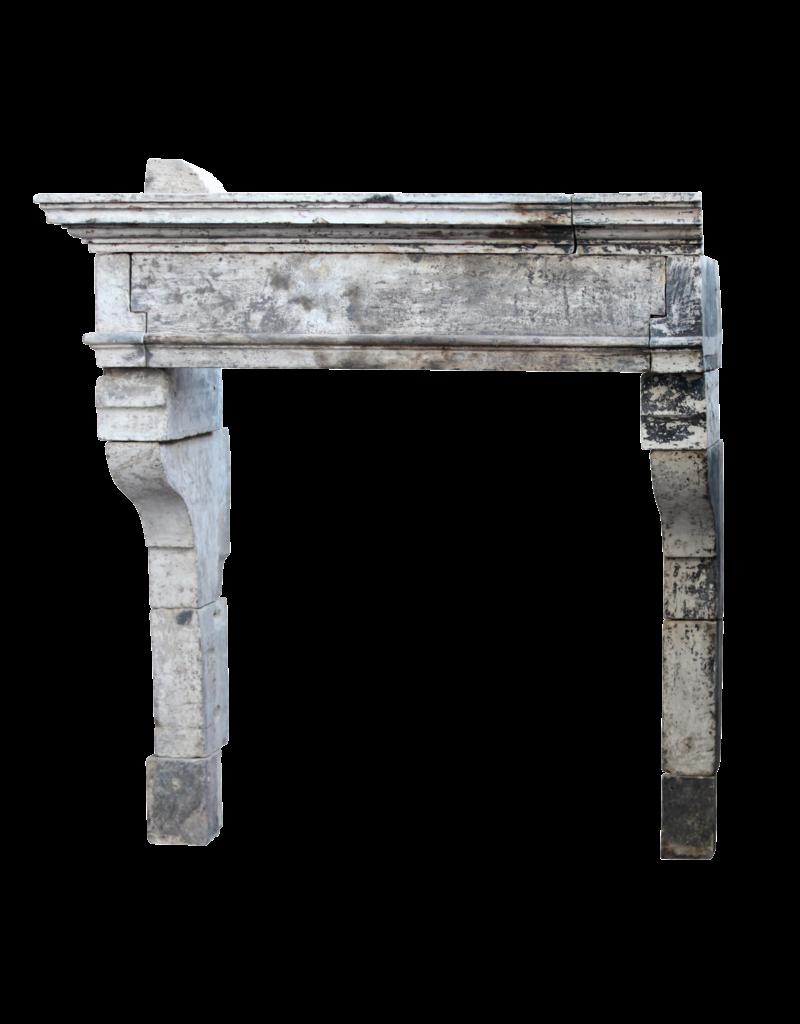The Antique Fireplace Bank Französisch Rustic Louis Xiii Periode Kalkstein Kaminmaske