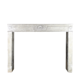 The Antique Fireplace Bank 18Th Century Fine French Fireplace In Hard Limestone