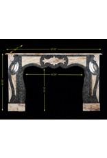 The Antique Fireplace Bank Art Deco Marmor Kaminmaske