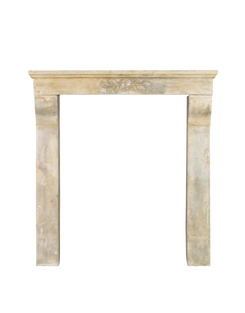 The Antique Fireplace Bank Art Nouveau Period Limestone Vintage Fireplace Surround