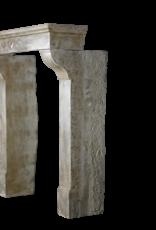 Jugendstil Periode Kalkstein Jahrgang Kaminmaske