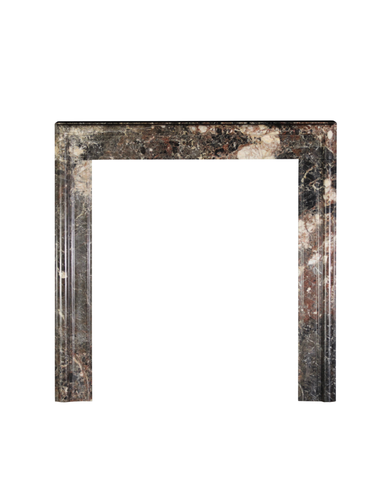 Contemporary Bolection Marble Fireplace Surround