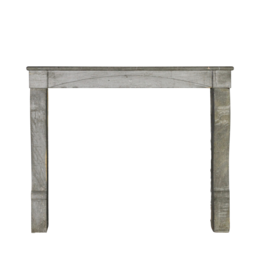 Timeless Chique French Bleu Stone Antique Fireplace Surround