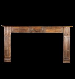 19. Jahrhundert Holz Kaminmaske