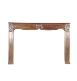 French Country Wood Fireplace Mantle