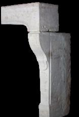 Elegante Chimenea De Piedra Caliza Francesa Surround