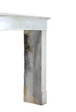 The Antique Fireplace Bank zeitloses Chique Französisch Bleu Stein Kamin Verkleidung