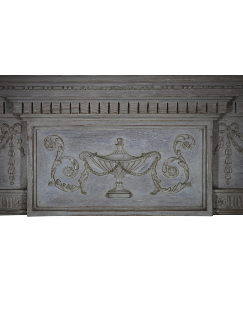 The Antique Fireplace Bank Fine English Pine Fireplace Surround