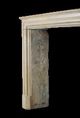 Maison Leon Van den Bogaert Antique Fireplaces & Vintage Architectural Elements Atemporal Francés De La Vendimia De La Piedra Caliza Chimenea