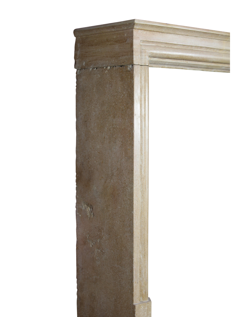 The Antique Fireplace Bank French Timeless Vintage Limestone Fireplace Surround