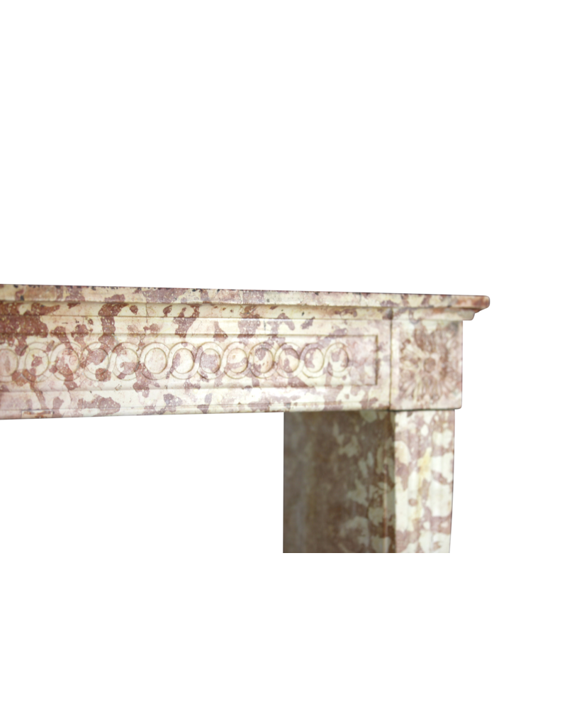 The Antique Fireplace Bank Classic Louis XVI French Marble Stone Fireplace Surround