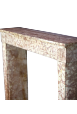 Classic Louis XVI French Marble Stone Fireplace Surround
