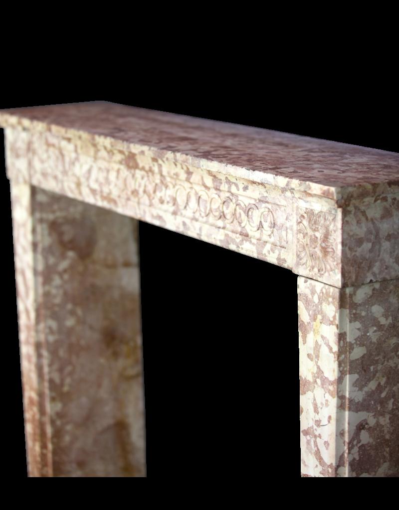 Klassische Louis XVI Französisch Marmor Stein Kaminmaske