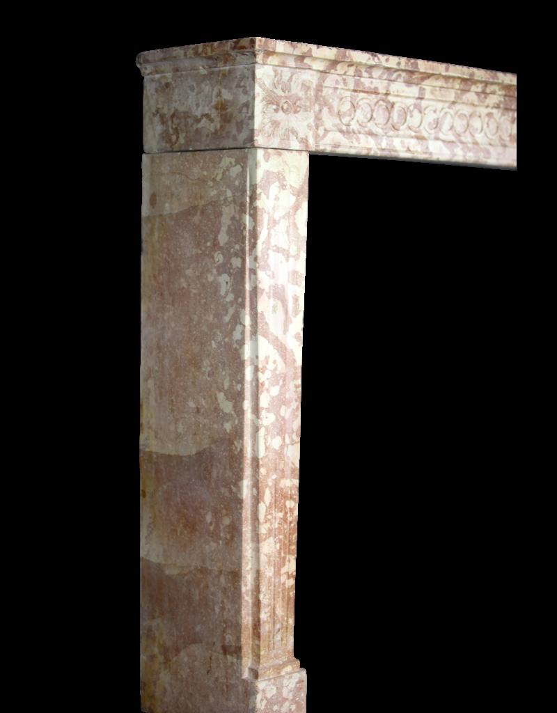 Clásico De Mármol Francés Luis Xvi Chimenea De Piedra