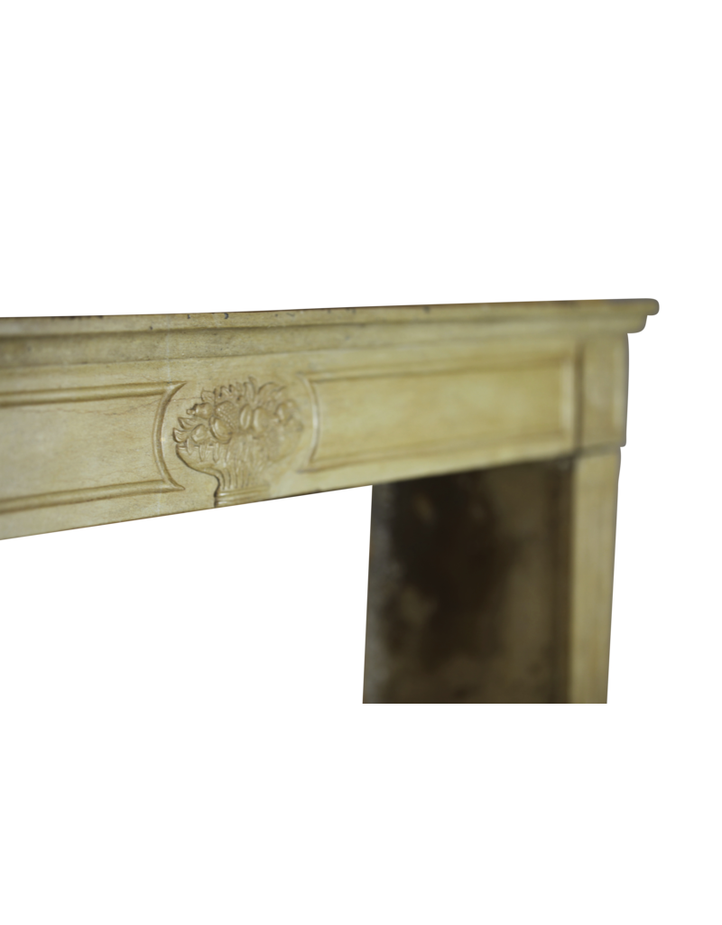 Fine French Reclaimed Fireplace Mantle