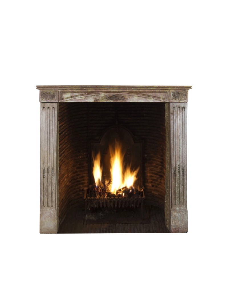 Petite Französisch Warme Farbe Kaminverkleidung