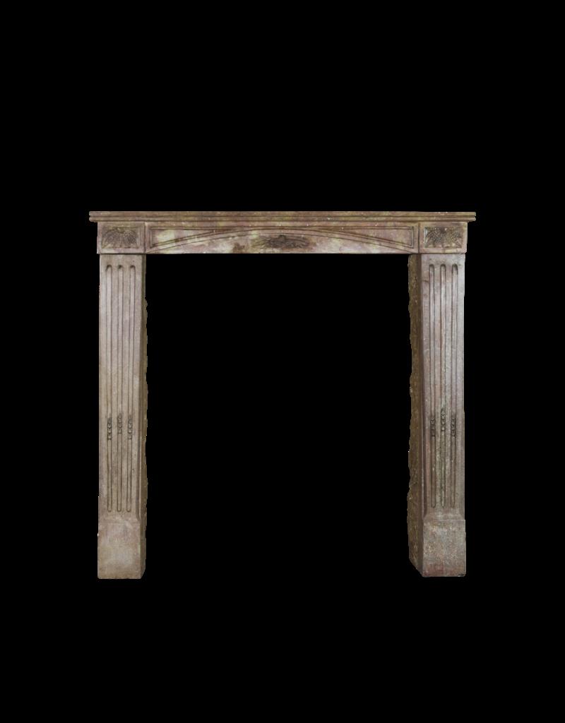 The Antique Fireplace Bank Color Caliente Pequeño Francés Chimenea