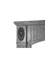 French Classic Antique Fireplace Mantle