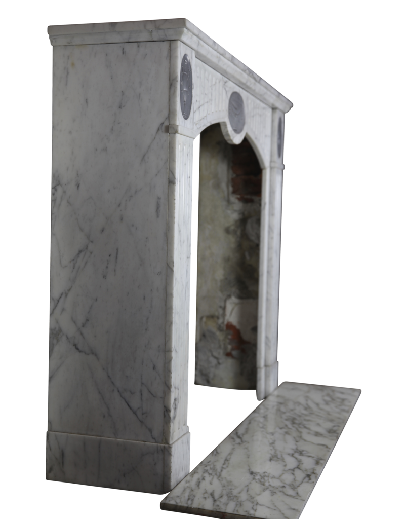 The Antique Fireplace Bank French Classic Antique Fireplace Mantle