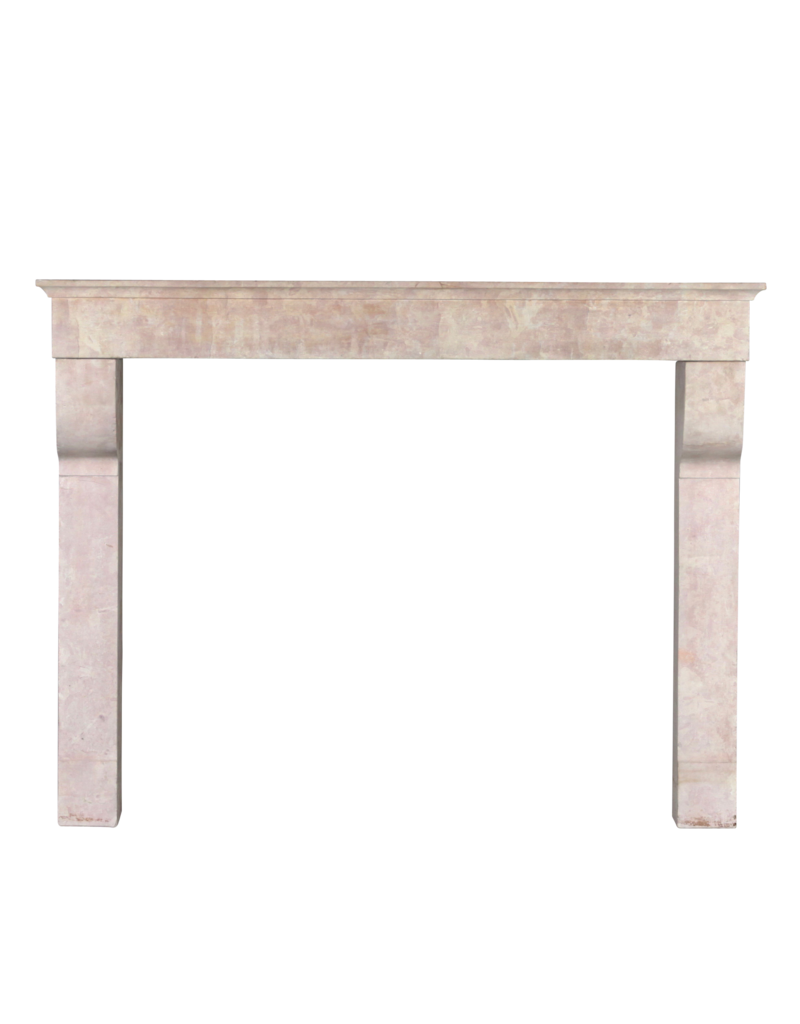 The Antique Fireplace Bank Fine French Rose Liseron Antique Fireplace Mantle