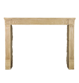 Classic French Limestone Fireplace Surround For Cosy Timeless Interior Styling