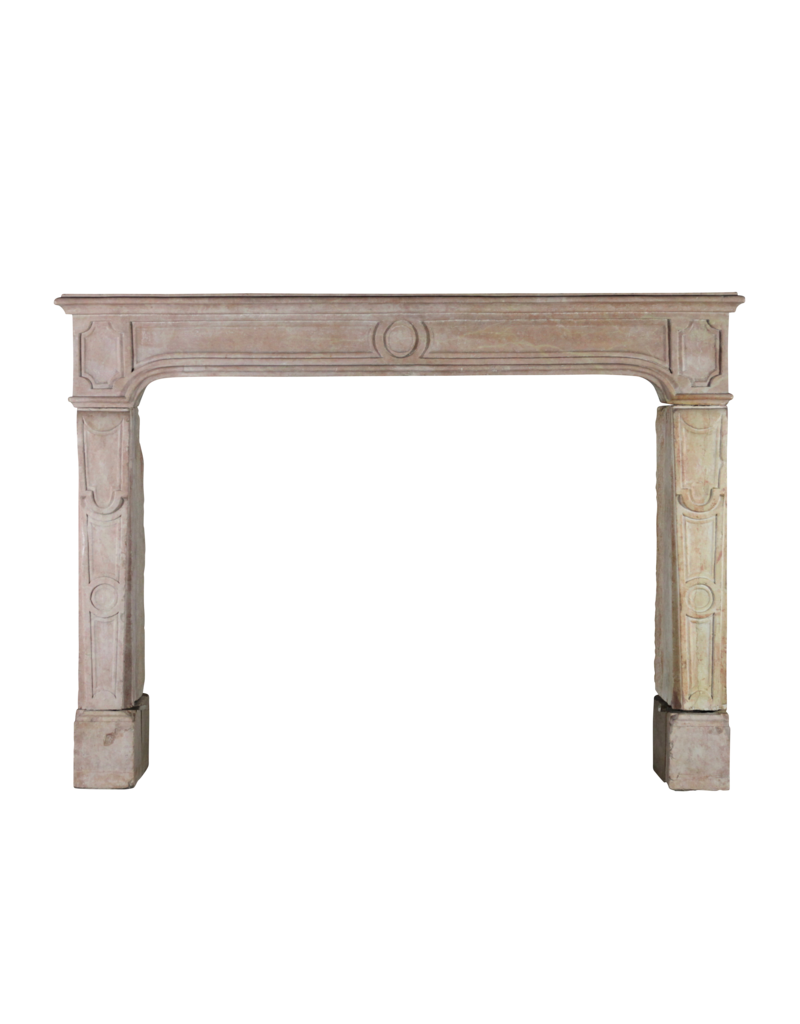 Classic French Antique Hard Stone Fireplace Surround