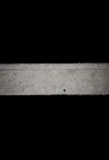 Kleines Französisch Landstil Kalkstein Kamin Maske