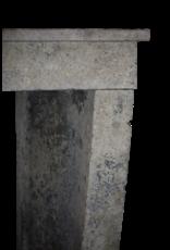 Kleines Französisch Land Kalkstein Kamin Surround