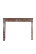 Fine Straight French Fireplace Mantle