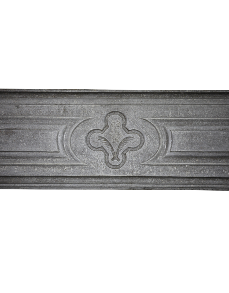 The Antique Fireplace Bank Francés Delicado País Chique Chimenea