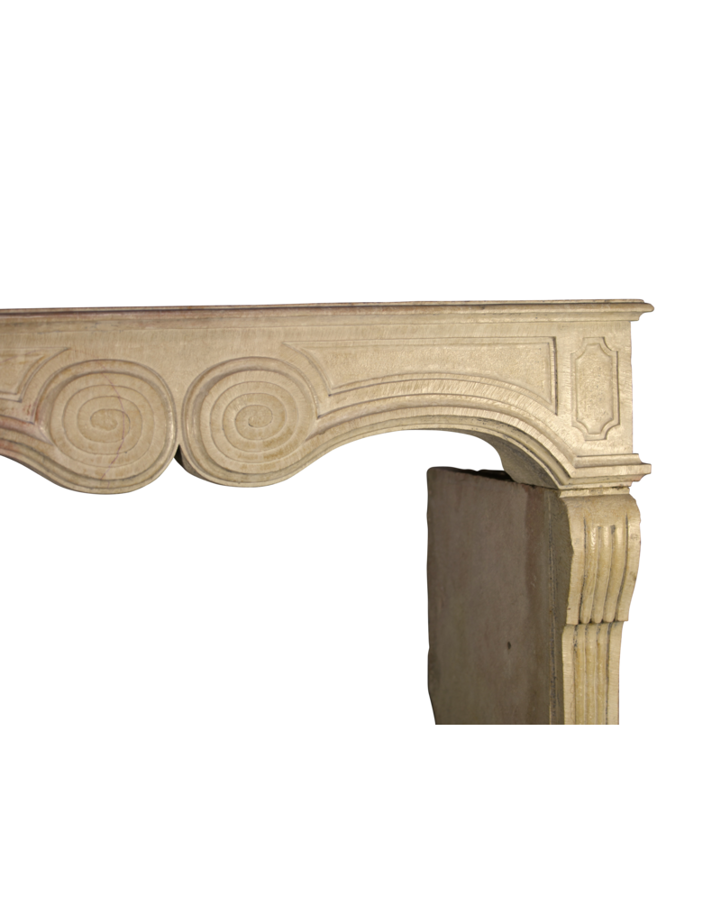 The Antique Fireplace Bank French Chique Stone Antique Fireplace Surround