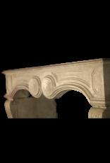 The Antique Fireplace Bank Francés Chique Piedra Antiguo Chimenea