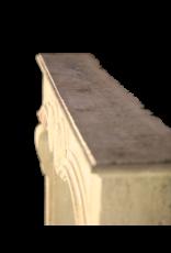 Francés Chique Piedra Antiguo Chimenea
