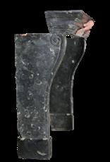 Feine zeitloses Fossil Stein Kaminmaske