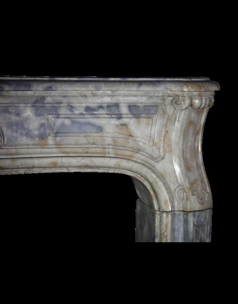 Feines Französisch Antike Marmor Stein Kaminmaske
