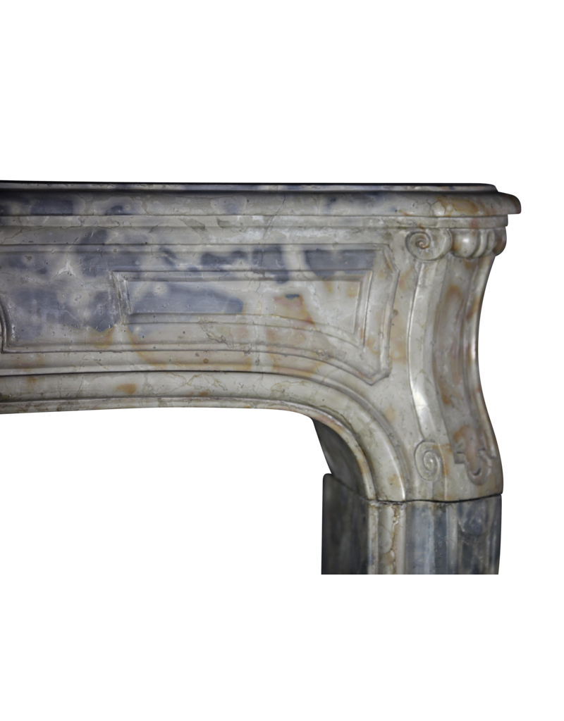 Fine French Antique Marble Stone Fireplace Surround