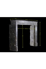 Fine Timeless Fossil Stone Fireplace Surround