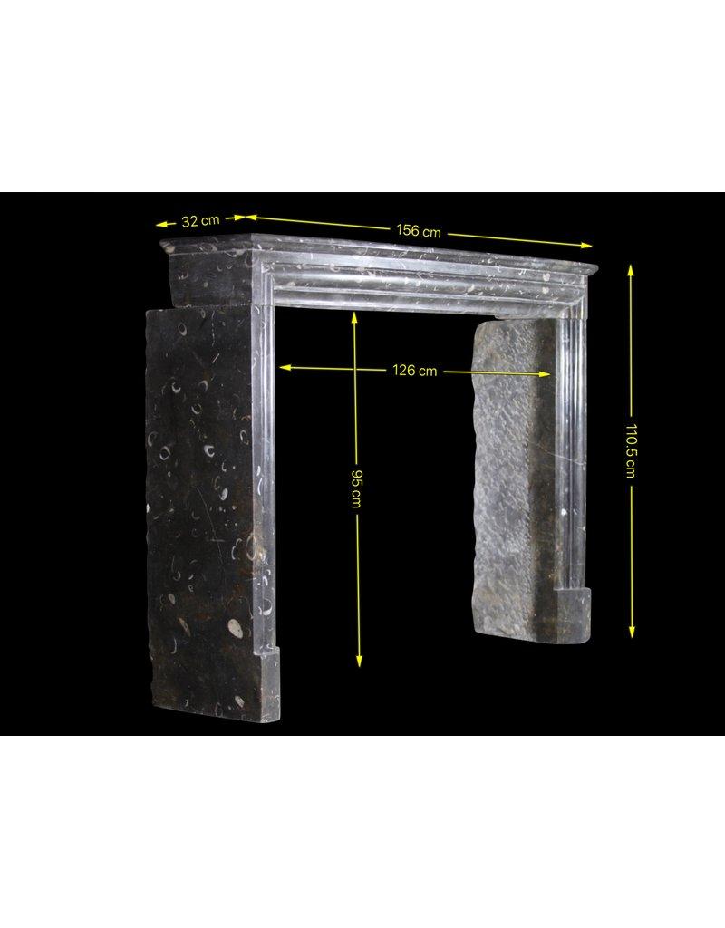 The Antique Fireplace Bank Feine zeitloses Fossil Stein Kaminmaske
